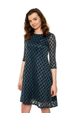 Puošni varpelio formos suknelė