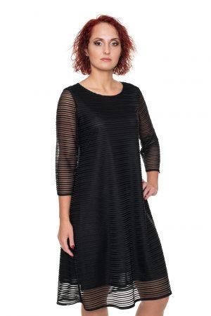 juoda proginė suknelė