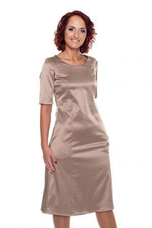 platėjanti blizgi suknelė