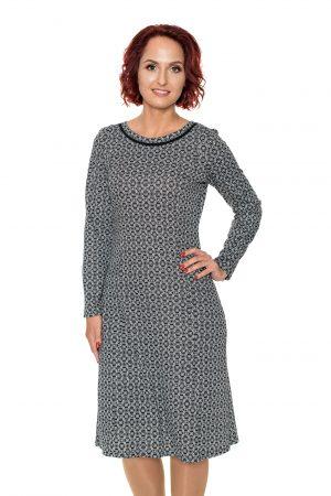 Platėjanti suknelė marginta koriukais