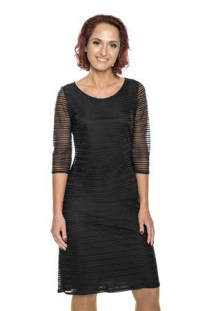 juoda šventinė suknelė moterims