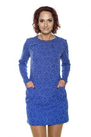 mėlyna tunika - suknelė